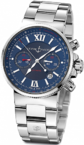 Ulysse Nardin Marine Collection Chronograph 353-66-7/323