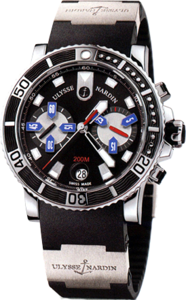 Ulysse Nardin Marine Collection Maxi Marine Diver Chronograph 8003-102-3/92