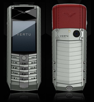 VERTU ASCENT X TITANIUM RED