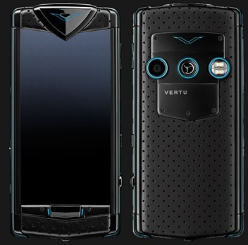VERTU CONSTELLATION BLACK NEON BLUE