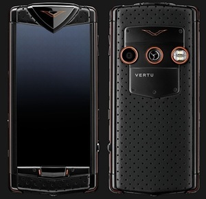 VERTU CONSTELLATION BLACK NEON ORANGE