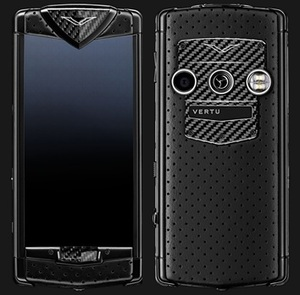 VERTU CONSTELLATION BLACK NEON SILVER