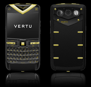 VERTU CONSTELLATION QUEST CARBON GOLD