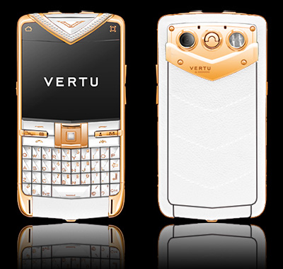 VERTU CONSTELLATION QUEST RED GOLD DIAMONDS
