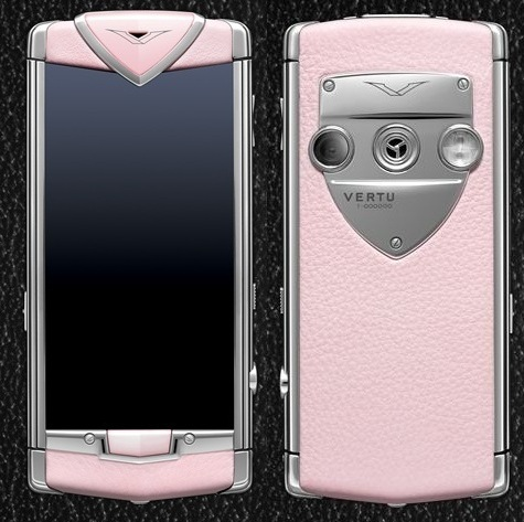 VERTU CONSTELLATION T PINK