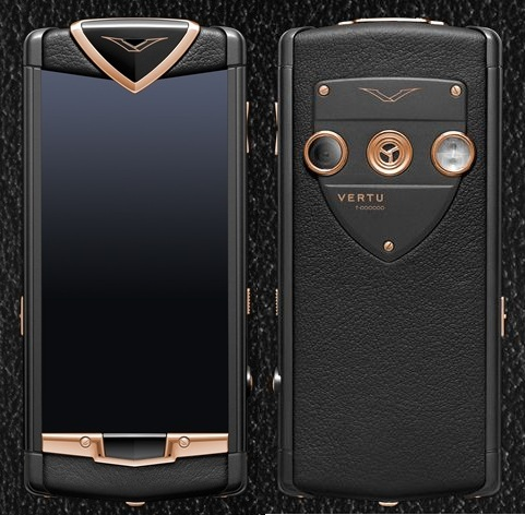 VERTU CONSTELLATION T PVD RED GOLD