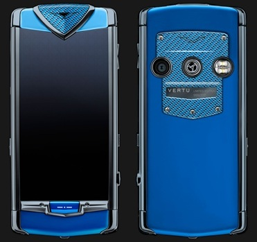 VERTU CONSTELLATION TOUCH BLUE