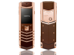 VERTU SIGNATURE S DESIGN RG PURE CHOCOLATE