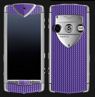 VERTU TOUCH SMILE ANEMONE PURPLE