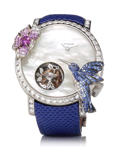 Boucheron Hibiscus Tourbillon Watch WA010236