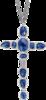 Ожерелье Gucci Raindrop Silver Necklace YBB356800001