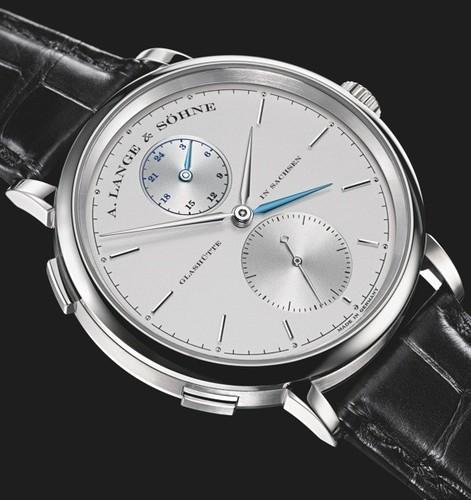 A. Lange & Sohne Saxonia Dual Time 385.026