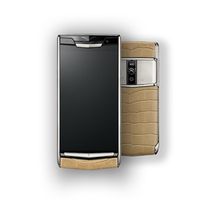 VERTU SIGNATURE TOUCH NEW ALMOND ALLIGATOR