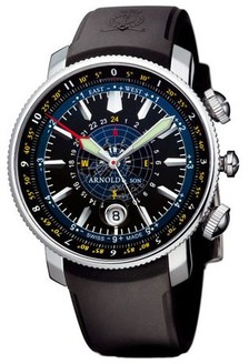 Arnold & Son Longitude II Blue Ice (Steel / Black / Rubber)