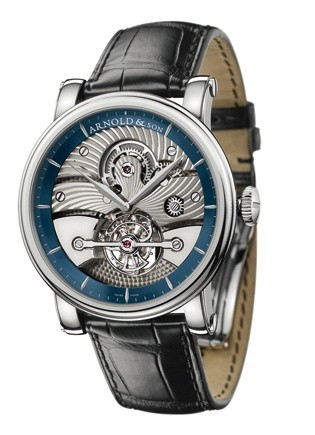 Arnold & Son Tourbillon Sir John (WG-Blue / Silver)