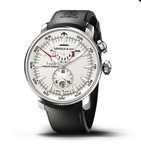 Arnold & Son White Ensign 7 Days (SS / Silver / Rubber)