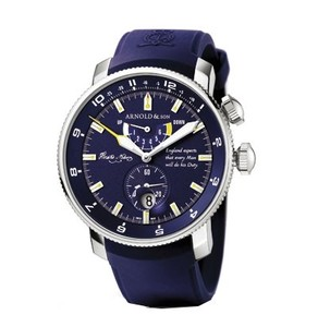 Arnold & Son White Ensign Lord Nelson (SS / Blue / Rubber)