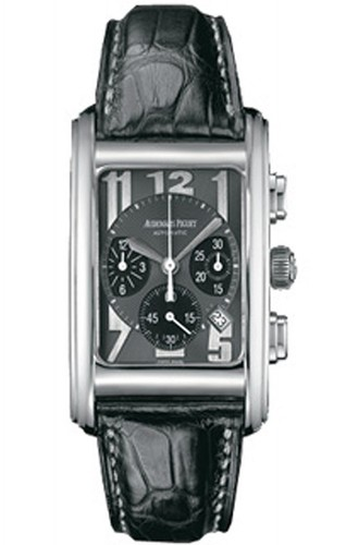 Audemars Piguet Edward Piguet Chronograph (WG / Black / Leather)