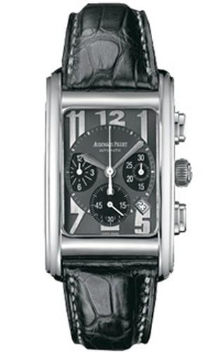 Audemars Piguet Edward Piguet Chronograph (WG / Black / Leather)