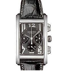 Audemars Piguet Edward Piguet Chronograph (WG / Grey / Leather)