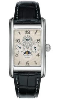 Audemars Piguet Edward Piguet Perpetual Calendar (WG / Silver / Leather Strap)