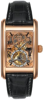 Audemars Piguet Edward Piguet Tourbillon (PG / Skeleton / Leather Strap)