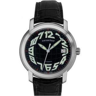 Audemars Piguet Jules Audemars Date (WG / Black / Leather)