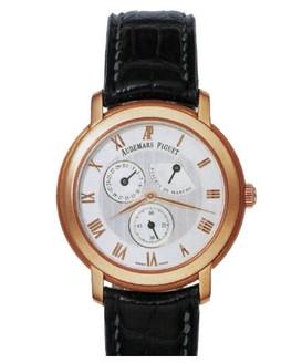 Audemars Piguet Jules Audemars Day Date (RG / White / Leather)