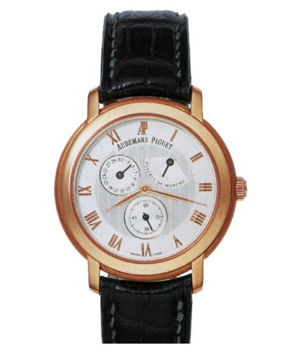 Audemars Piguet Jules Audemars Day Date (RG / White / Leather)