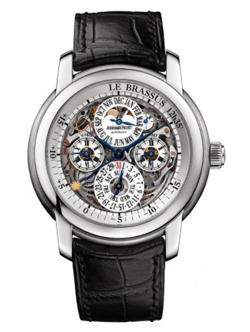 Audemars Piguet Jules Audemars Equation of Time (Platinum / Skeleton / Leather)