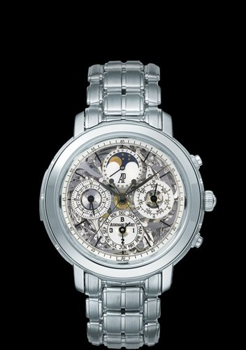 Audemars Piguet Jules Audemars Grand Complication (Platinum / Skeleton / Platinum Bracelet)