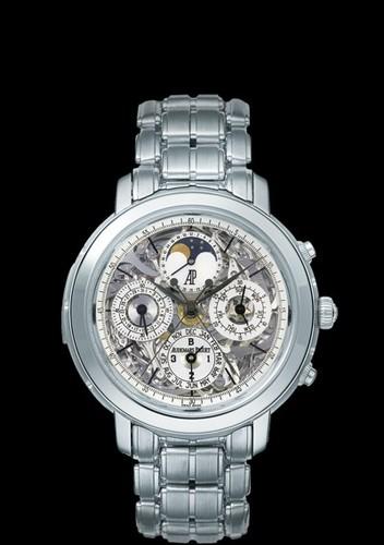 Audemars Piguet Jules Audemars Grand Complication (Platinum / Skeleton / Platinum Bracelet)