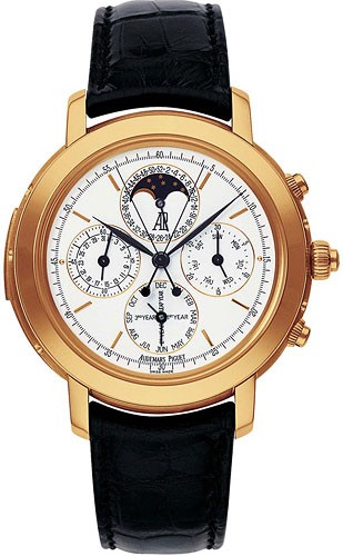 Audemars Piguet Jules Audemars Grand Complication (RG / Silver / Leather Strap)