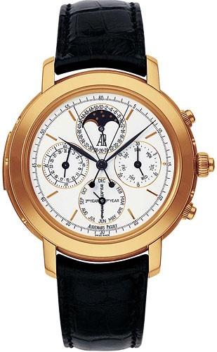 Audemars Piguet Jules Audemars Grande Complication (PG / White / Leather)