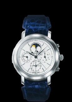Audemars Piguet Jules Audemars Grande Complication (Platinum / White / Leather)