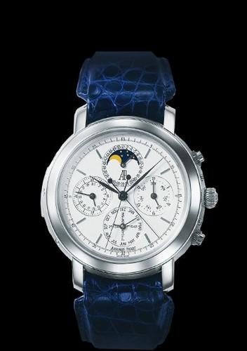 Audemars Piguet Jules Audemars Grande Complication (Platinum / White / Leather)