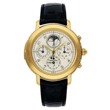Audemars Piguet Jules Audemars Grande Complication (YG / White / Leather)