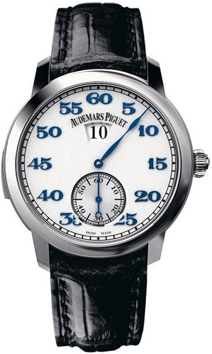 Audemars Piguet Jules Audemars Jumping Hour Minute Repeater (Platinum)