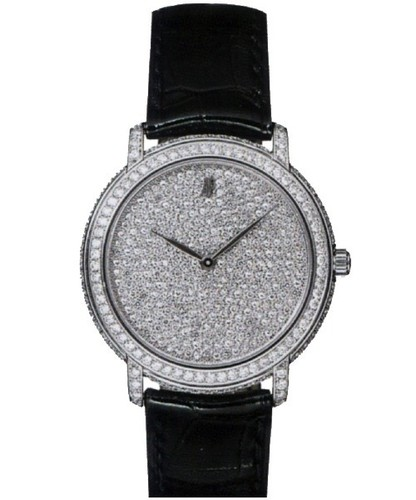Audemars Piguet Jules Audemars Ladies (WG / Diamonds / Leather) 77214BC.ZZ.A001CR.01