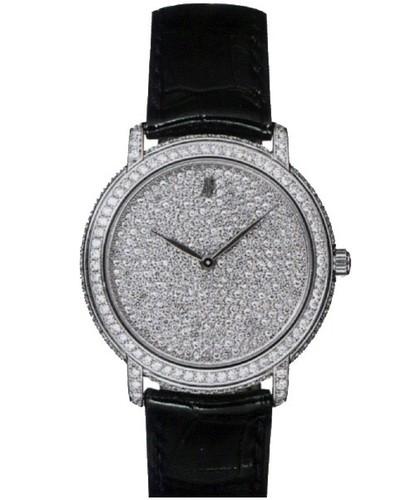 Audemars Piguet Jules Audemars Ladies (WG / Diamonds / Leather) 77214BC.ZZ.A001CR.01