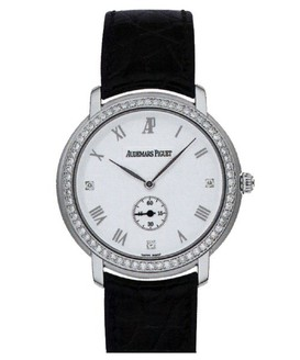 Audemars Piguet Jules Audemars Ladies (WG / White / Diamonds)