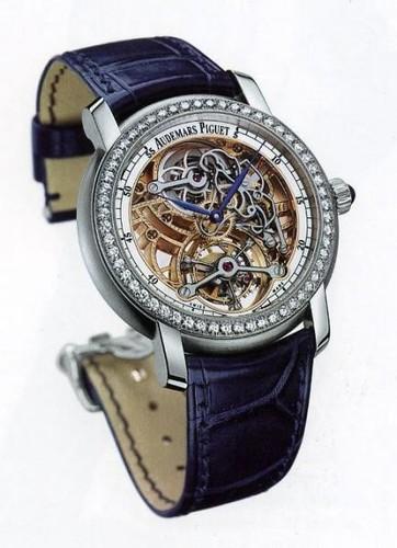 Audemars Piguet Jules Audemars Lady Tourbillon (Platinum / Diamonds)