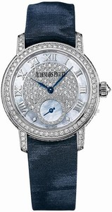 Audemars Piguet Jules Audemars Lady (WG-Diamonds / MOP-Diamonds / Blue Satin Strap) 77229BC.ZZ.A025MR.01