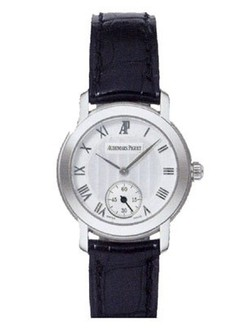 Audemars Piguet Jules Audemars Lady (WG-Silver-Leather)