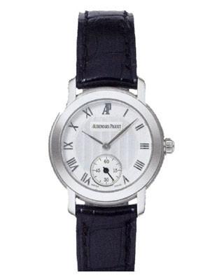 Audemars Piguet Jules Audemars Lady (WG-Silver-Leather)