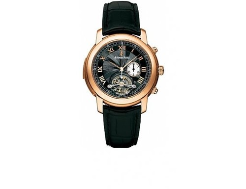 Audemars Piguet Jules Audemars Minute Repeater Tourbillon (Pink Gold / Black / Leather Strap)