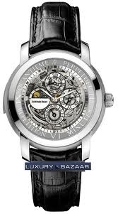 Audemars Piguet Jules Audemars Skeleton Minute Repeater Perpetual Calendar (Platinum / Skeleton / Leather)