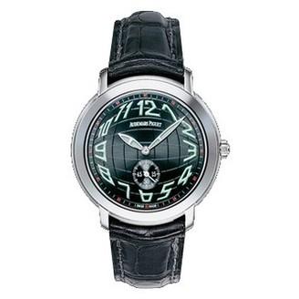 Audemars Piguet Jules Audemars Small Seconds (WG / Black / Leather)