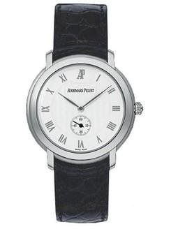 Audemars Piguet Jules Audemars Small Seconds (WG / Silver / Leather)