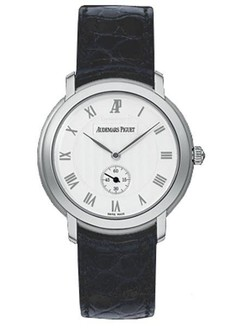 Audemars Piguet Jules Audemars Small Seconds (WG / Silver / Leather)
